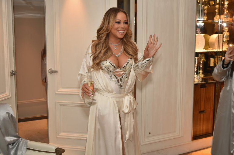 NEW YORK, NY - DECEMBER 03:  Mariah Carey attends M.A.C Cosmetics Mariah Carey Beauty Icon Launch  at Baccarat Hotel on December 3, 2016 in New York City.  (Photo by Theo Wargo/Getty Images for M.A.C)