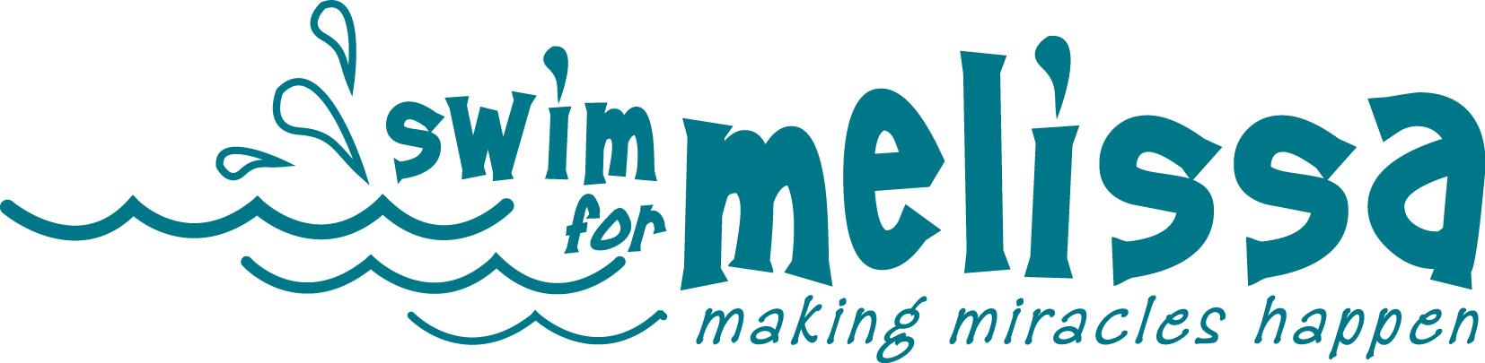 swim for melissa logo
