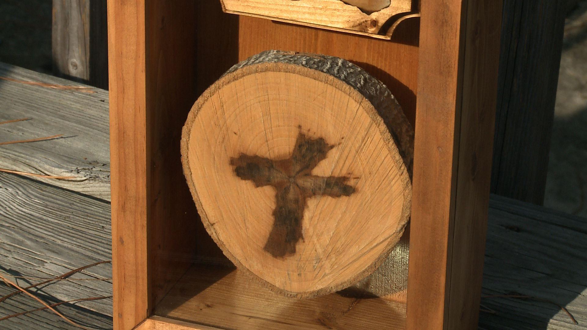 Cross in Tree