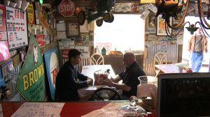 Hickory Barn owner Bill Davis explains his pistol permit discount.