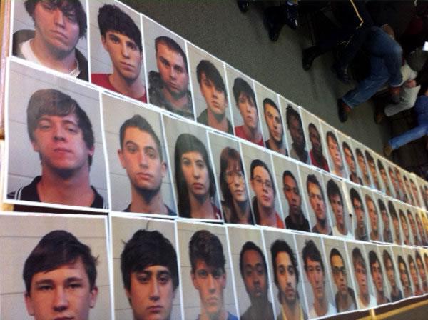 Mugshots of Tuscaloosa arrests (Photo: ABC3340)