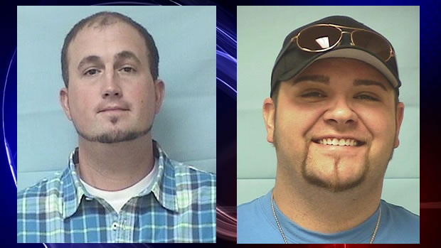 L to R: Scotty Smith, Jerome Theodoroy (Photos: Lawrence County Sheriff's Office)