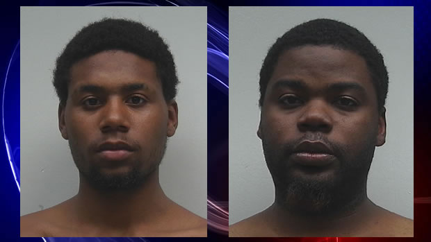 L to R: Andrew Isaac Hamer, Wayne Jerome Ford, Jr. (Photos: Lauderdale County Detention Center)