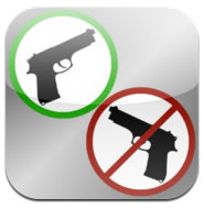 The Gun Free Zone app is free on iTunes and Android.
