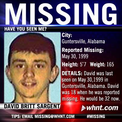 Share this picture on Facebook to help spread the word about this missing person.
