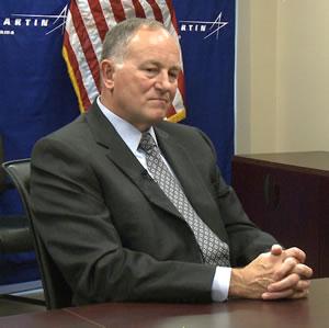 Major General Jim Rogers talks about Lockheed Martin's evolution in Huntsville.