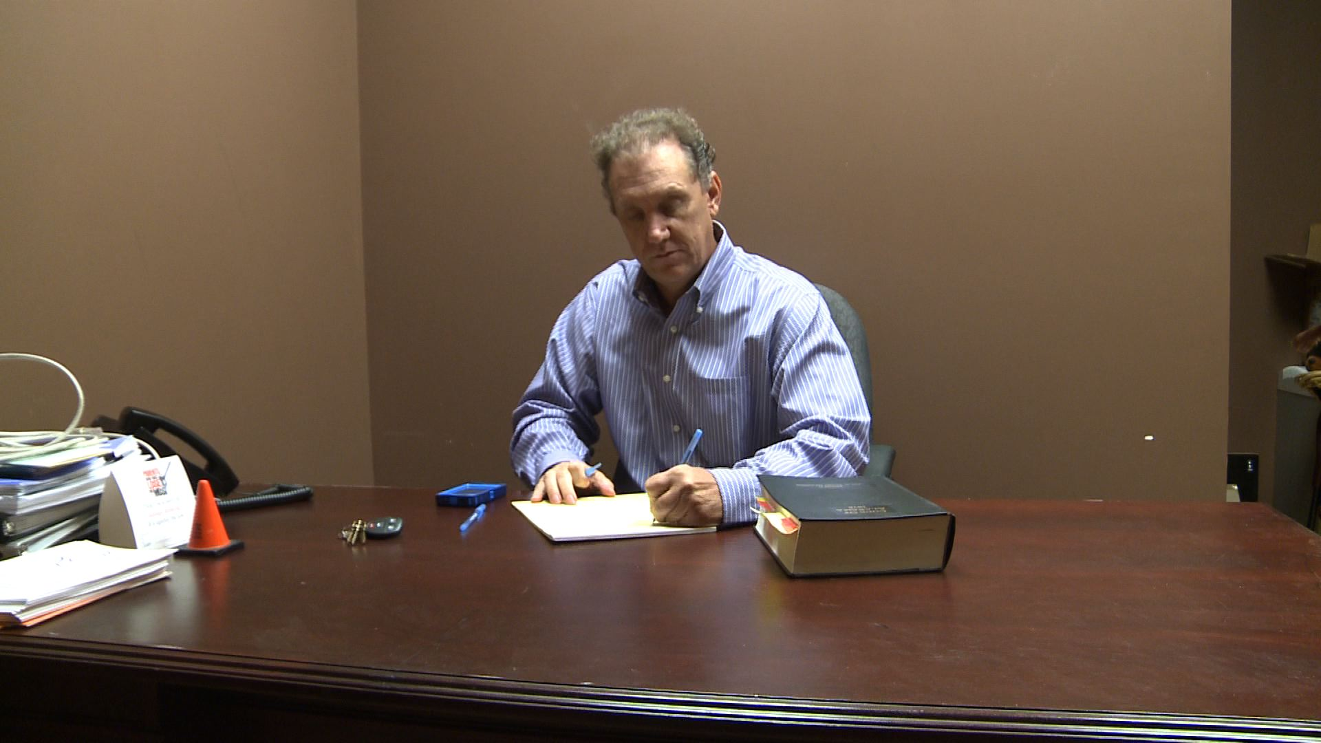Joey Masters returned to work on Monday, August 12. (Photo: Carson Clark, WHNT News 19)