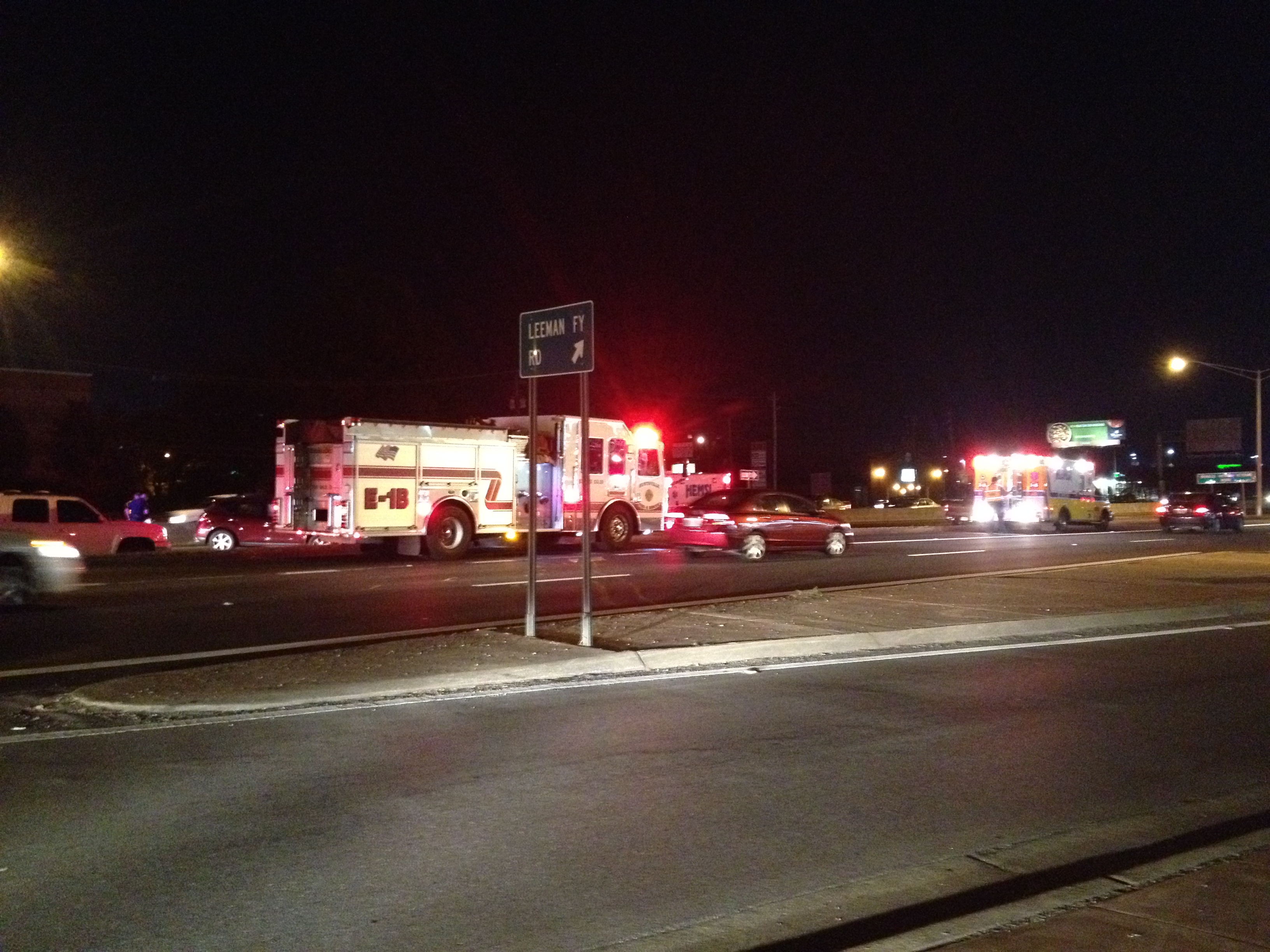 Wreck Backs Up Traffic on South Memorial Parkway