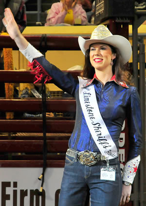 April Brown, Miss Limestone Sheriff's Rodeo 2013
