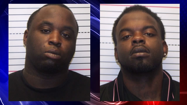 Brandon Keith Wells (L) and Curtis Kwame Pickett (R) are charged with
