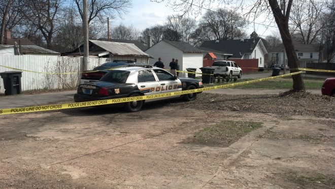 Photo of home on Winona Street in Florence where the shooting happened. (Carter Watkins/WHNT News 19)