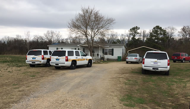 The shooting took place at this home on DeKalb County Road 1966. (Photo: Carson Clark/WHNT News 19)