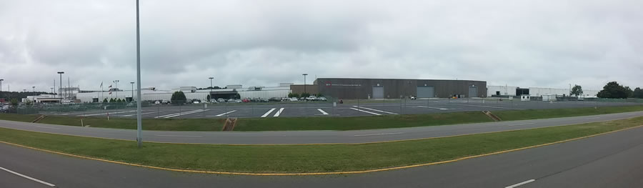 A panoramic picture showing one of Science and Engineering Services's Huntsville locations. (Courtesy: SES)
