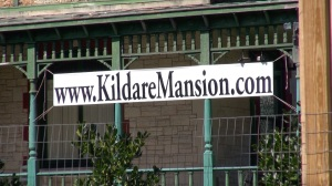 """If you support the survival of Kildare, let your elected official know your thoughts.  Encourage them to continue discussions with the owner and to add those important words """"for good cause"""" to the agreement. More information at http://kildaremansion.com (PHOTO: David Wood, WHNT)"""