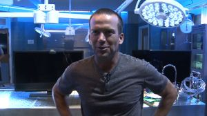 Lucas Black, on the set of NCIS: New Orleans (Carson Clark/WHNT News 19)