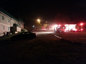 GOLF ROAD STRUCTURE FIRE