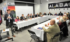About two dozen people attended the forum on Nov. 6. (Photo: Sarah Cole/scole@al.com)