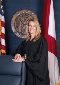 Current District Court Judge Alison Austin will fill Judge Bells's Circuit Court seat when he retires. (PHOTO: Twenty-third Judicial Circuit Madison County, Alabama)
