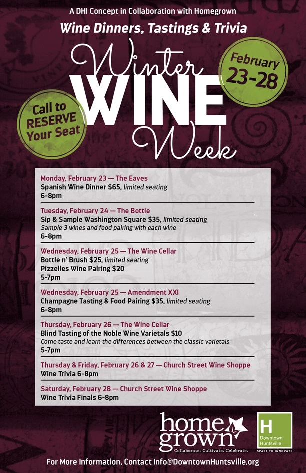 Winter Wine Week