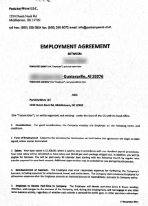 'Jane' showed us this employment agreement the company asked her to sign.