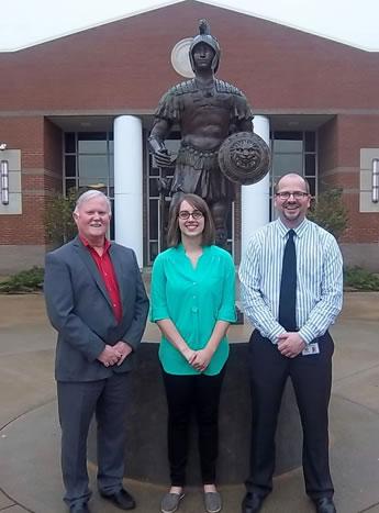 From left: Glenn Carr, Samantha Mayes and David Manning (Photo: Sarah Black)