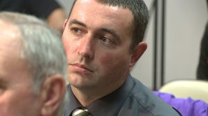Officer P.J. Lee, during a Huntsville City Council meeting in 2012. (WHNT News 19 file)