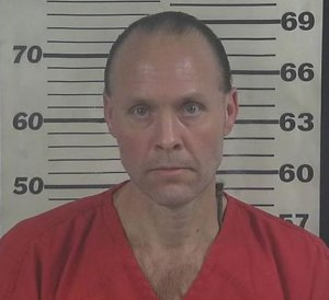 Barry Whitton's new mugshot, taken at the Cullman County Jail.