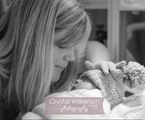 Lacey Simpson with son Brody (Image: Crystal Wilkerson Photography)