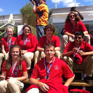 The International Rocketry Champions (Photo By: Russellville City Schools Rockets & Robots)