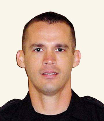 Officer Eric Freeman, Killed in the line of duty in December 2007