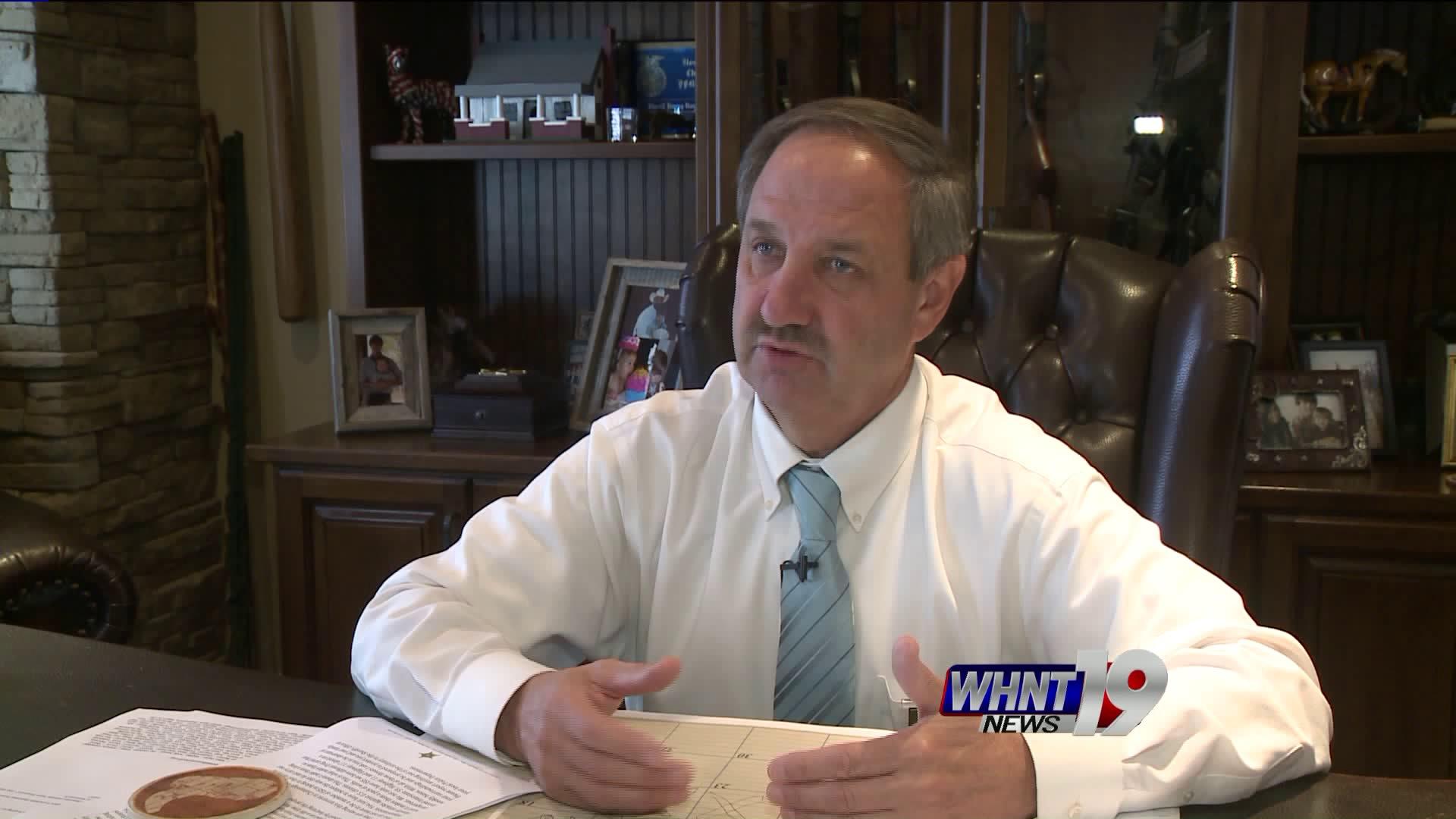 Sheriff Jimmy Harris, DeKalb County