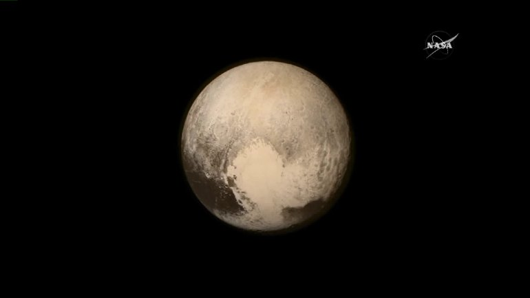 NASA Released this image of Pluto after the New Horizon Mission to Pluto Tuesday morning. More images expected to be released later.