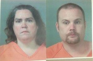 Rhonda Carlson (L) & Matthew Henderson (R) (Photos: Madison County Sheriff's Office)