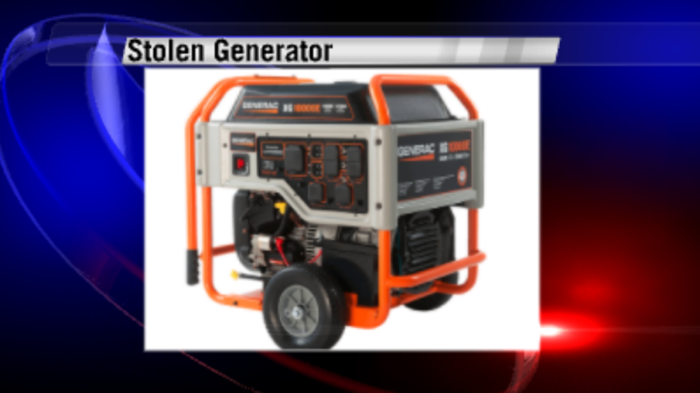 This is what the stolen generators look like. If you notice generators that look like this for sale in the near future, please notify the Huntsville Police Department.