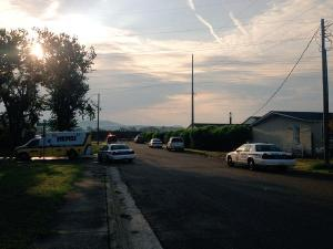 Huntsville Police on the scene of a death investigation near Lowe Mill. (Courtney Crown,  WHNT News 19)