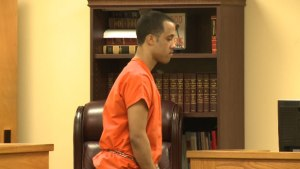 Adrian Renteria leaves a courtroom in Marshall County after a judge ruled Renteria will be tried as an adult. (Photo: Laura Christmas/WHNT News 19)