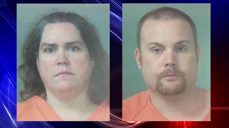Rhonda Carlson (L) & Christopher Matthew Henderson (R) (Photos: Madison County Sheriff's Office)