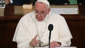 Honest, Pope Francis didn't visit the U.S. with Notre Dame vs. Clemson in mind