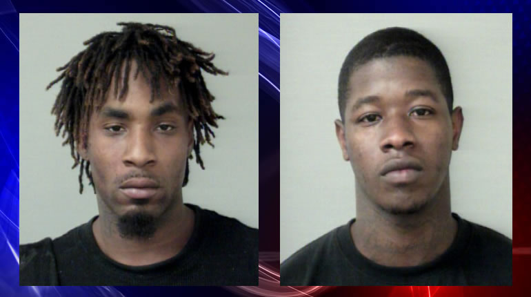 Jamarcus Greer, left, and Terance Moore, right. (Photos: Huntsville Police Department)