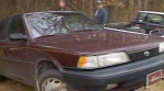 Michelle Whitton's car after it was recovered