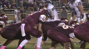 Madison Academy, playing Lexington during the 2015 season (WHNT News 19)
