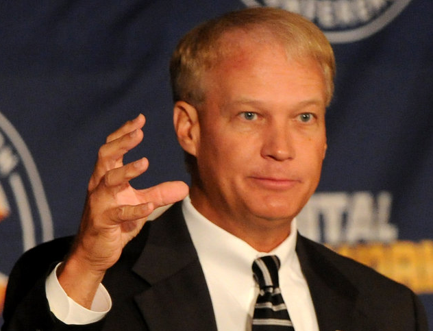 Steve Shaw, SEC Coordinator of officials