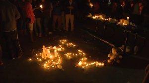 Candle Light vigil for Zaevion Dobson