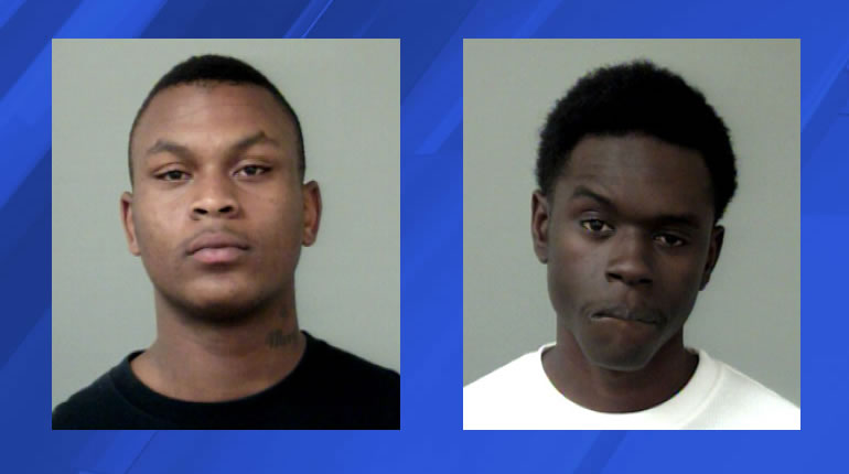 Left to right - Jimmy Leslie, Shaquille Hyter (Photos: Huntsville Police Department)