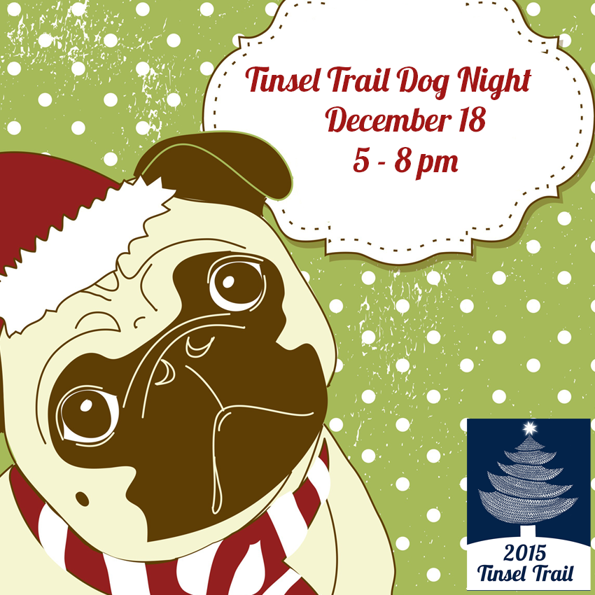 tinsel trail dog night 2015