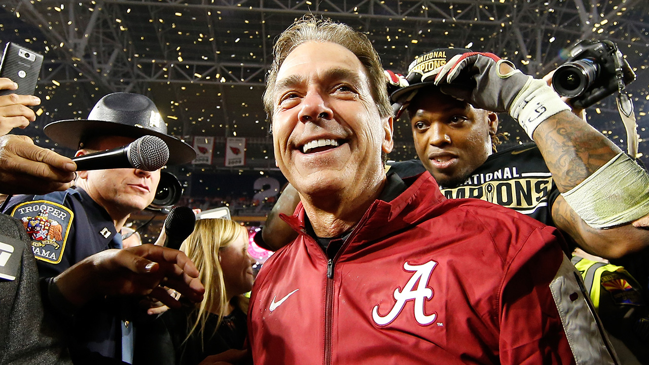 Nick Saban is gunning for his seventh win in 10 tries against Auburn as Alabama's coach.