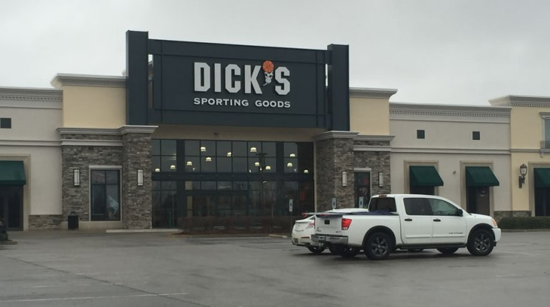 Dick's Sporting Goods will open at Bridge Street in February 2016. (Photo: Shane Hays/WHNT News 19)