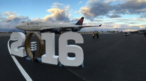 The Alabama plane arriving in Phoenix (Photo: Ryan Cody/WHNT)