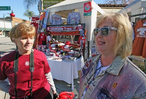 Alabama fan Missy Boyd wearing unique Crimson Tide on eve of 2010 title game (AL.com)