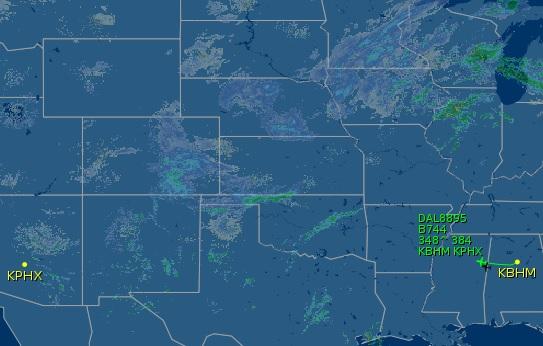 Image: Flightaware.com